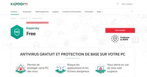 Antivirus gratuit Kaspersky