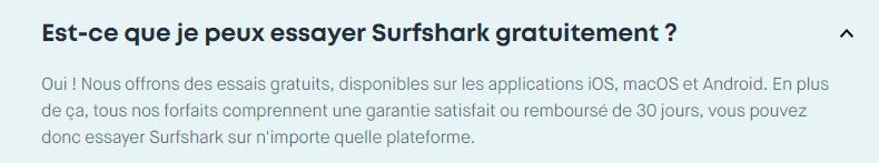 essai gratuit surfshark